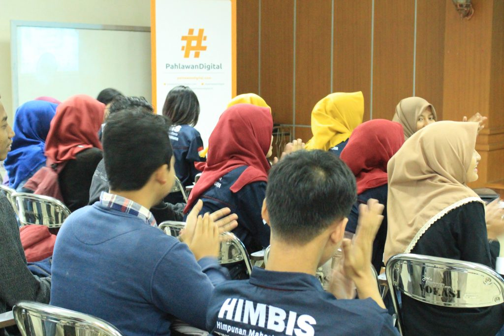 Roadshow #3 Pahlawan Digital di Kampus Vokasi Universitas Brawijaya